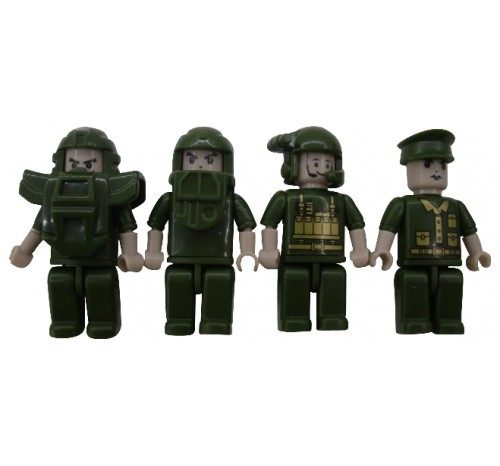 Army Figs - 4 Pack