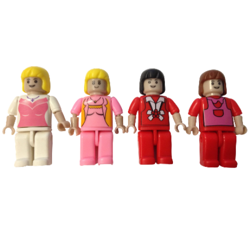 Girls Figs - 4 Pack