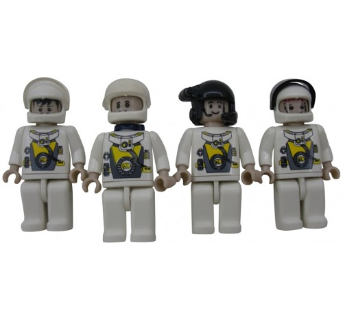 Space FIgs - 4 Pack