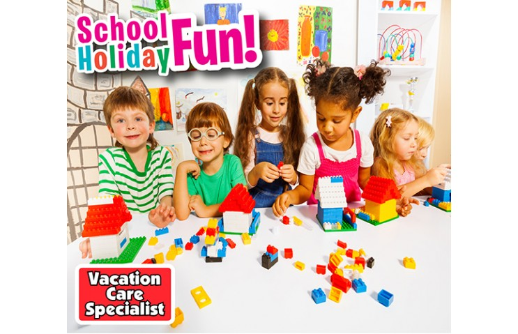 Vacation Care offer for April - BEARS & BLOCKS